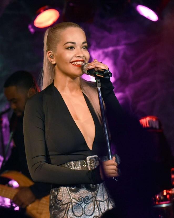 Rita Ora - Performing at The Loft in Atlanta
