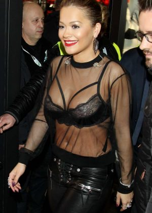 Rita Ora - Performing at the opening of the store Tezenis in Warsaw