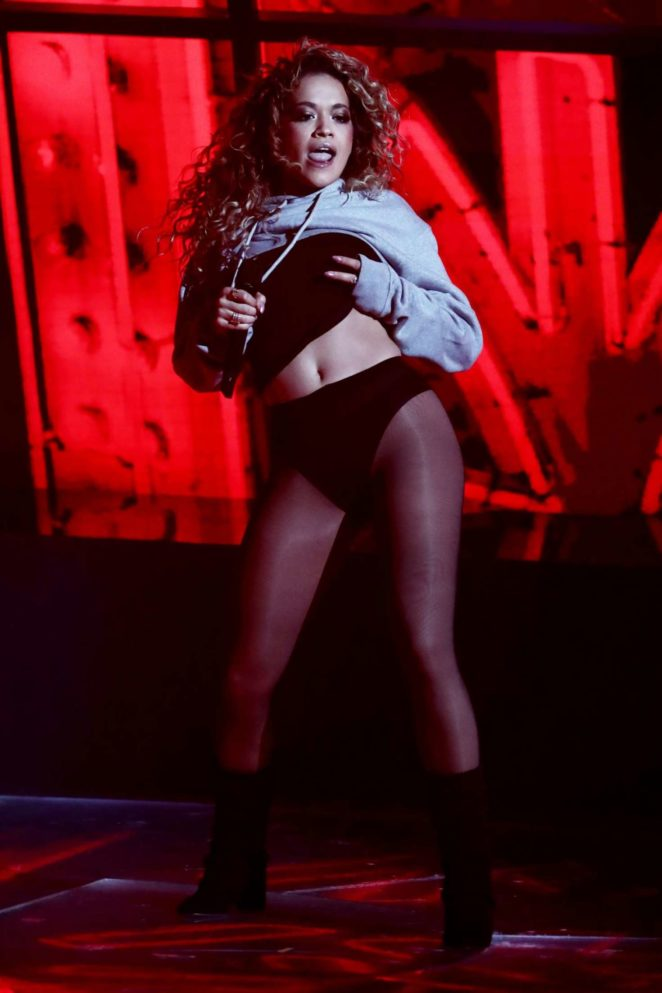 Rita Ora: Performing Live on The X Factor TV Show -04