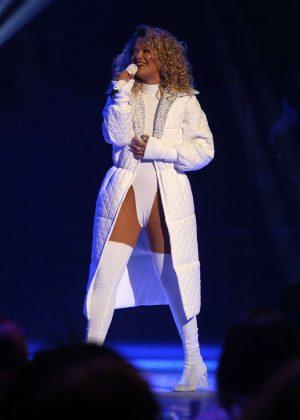 Rita Ora - Performs at 2018 Global Awards in London