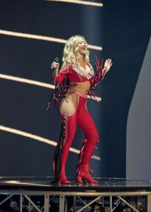 Rita Ora - Performs at Germany's Next Topmodel Finals in Duesseldorf