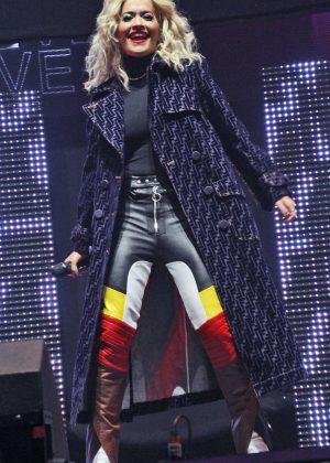 Rita Ora - Performs at Radio City Hits Live in Liverpool