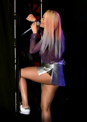 Rita Ora - Performs at The El Rey in LA