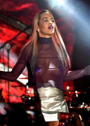 Rita Ora: Performs at The El Rey -24