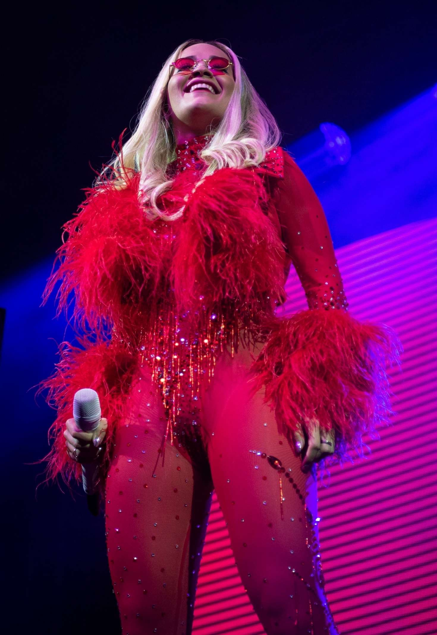 Rita Ora 2018 : Rita Ora: Performs live on stage at O2 Academy Leeds -03