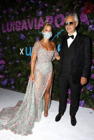 Rita Ora - Possing at LuisaViaRoma for UNICEF in Capri
