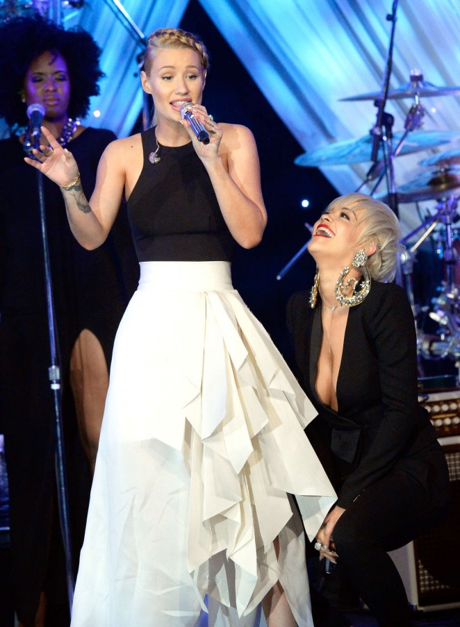 Rita Ora 2015 : Rita Ora: Pre-GRAMMY Gala and Salute To Industry Icons -02