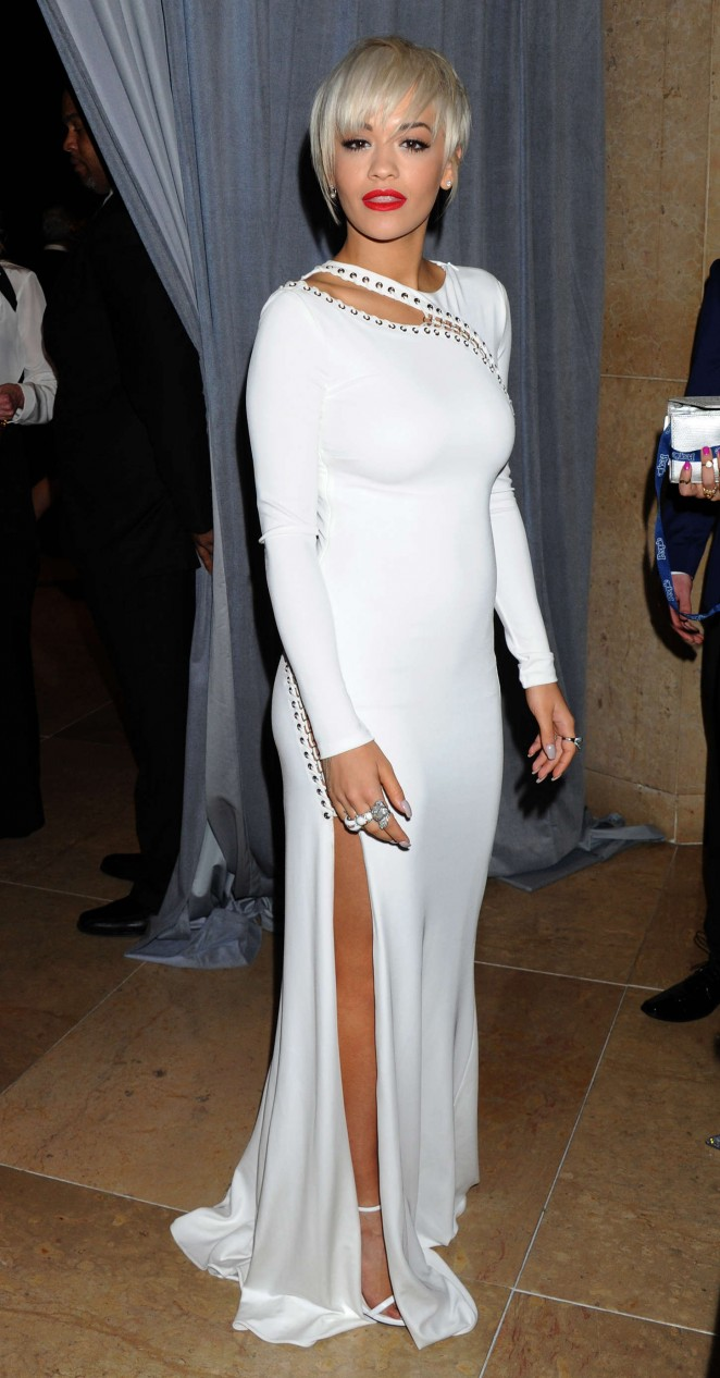 Rita Ora 2015 : Rita Ora: Pre-GRAMMY Gala and Salute To Industry Icons -07