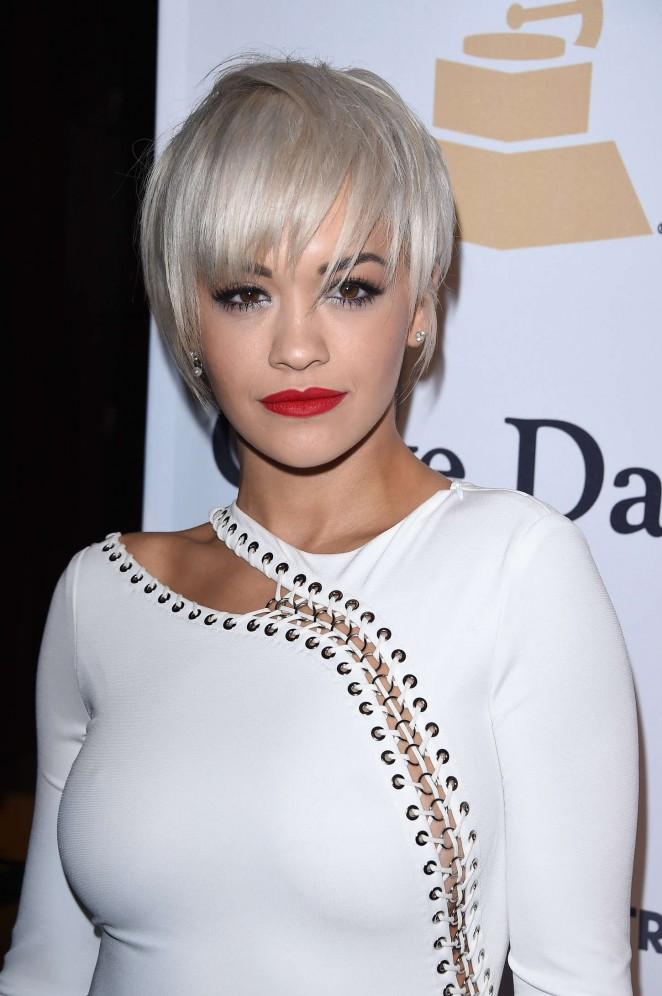 Rita Ora: Pre-GRAMMY Gala and Salute To Industry Icons -12