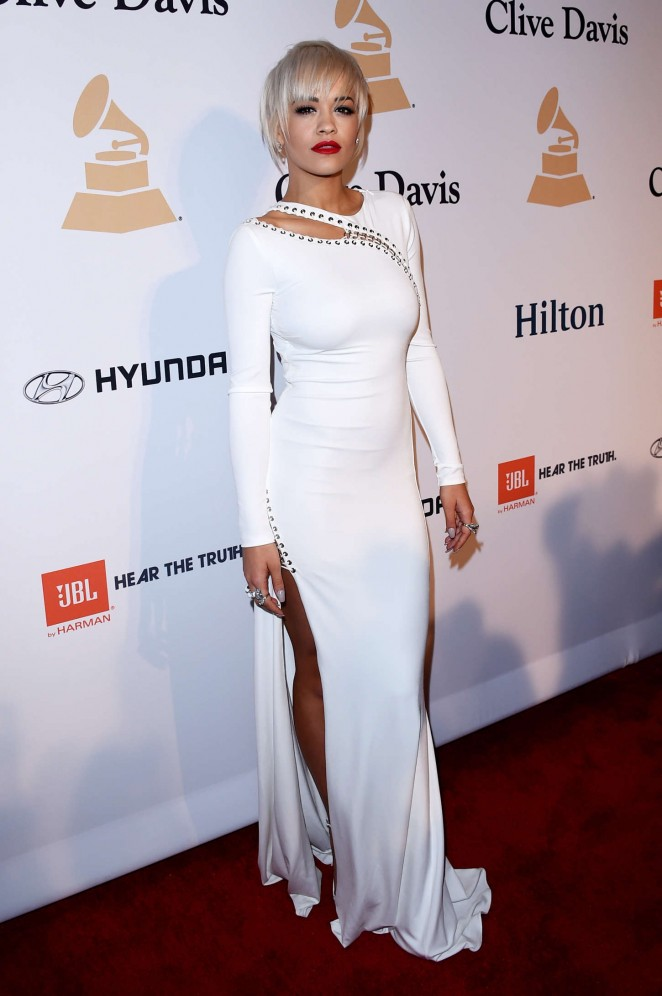 Rita Ora: Pre-GRAMMY Gala and Salute To Industry Icons -24