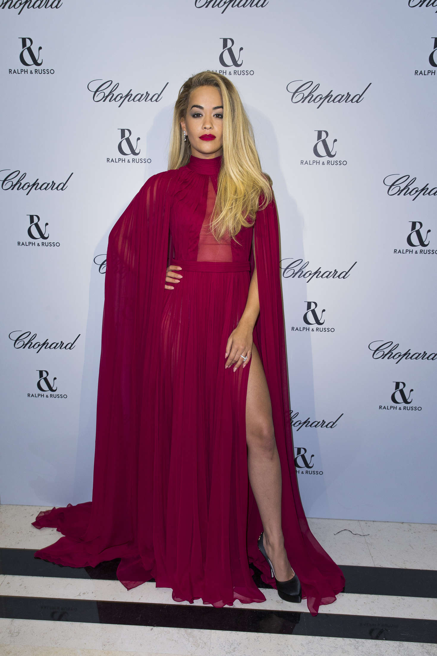free rita ora in short dress out in london with rita russo