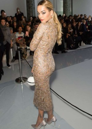 Rita Ora - Ralph & Russo Haute Couture Fashion Show SS 2016 in Paris