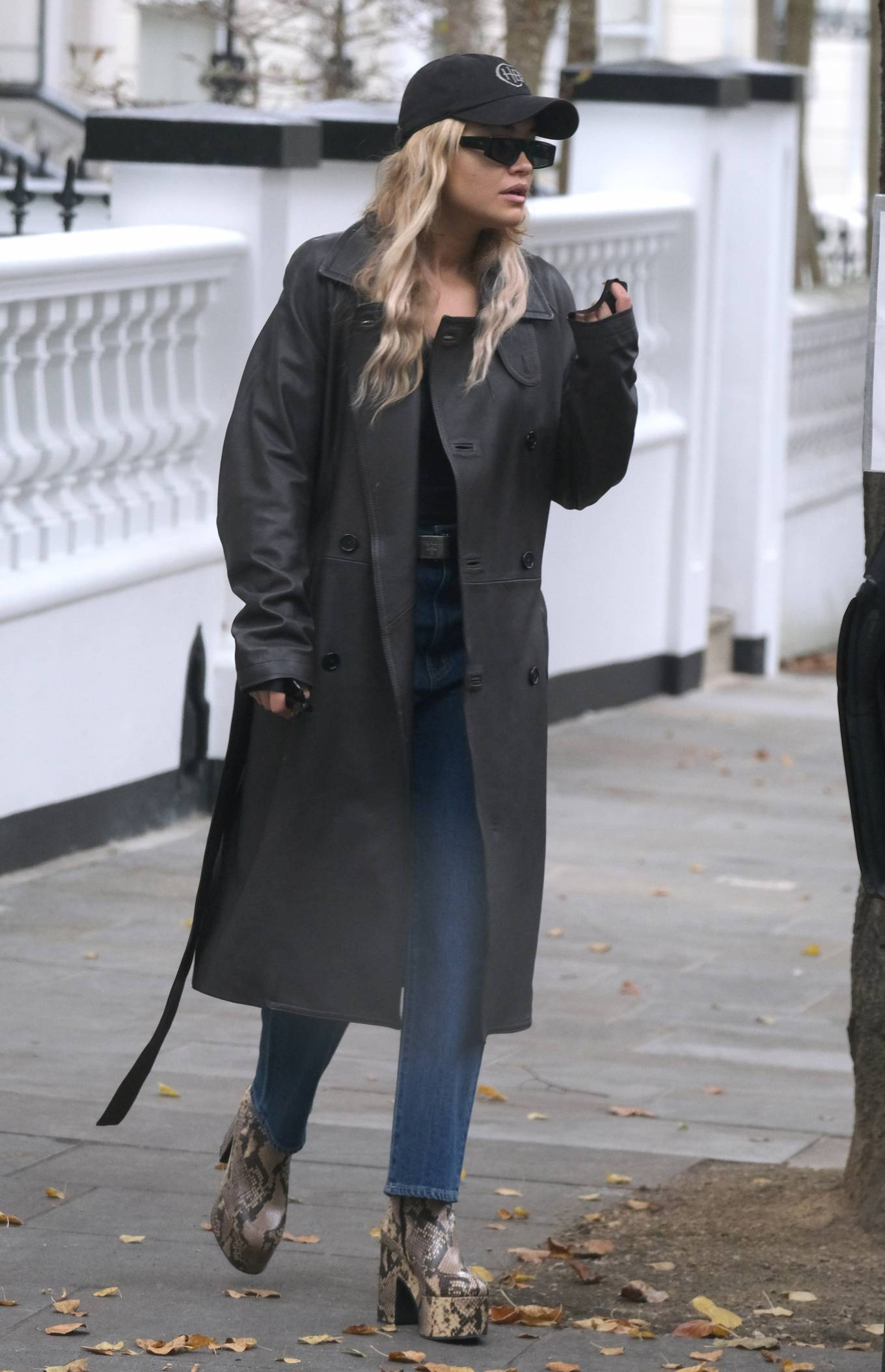 Rita Ora - Running errands in London