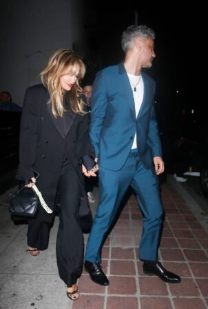 Rita Ora - Seen during late-night drinks with friends in Los Feliz