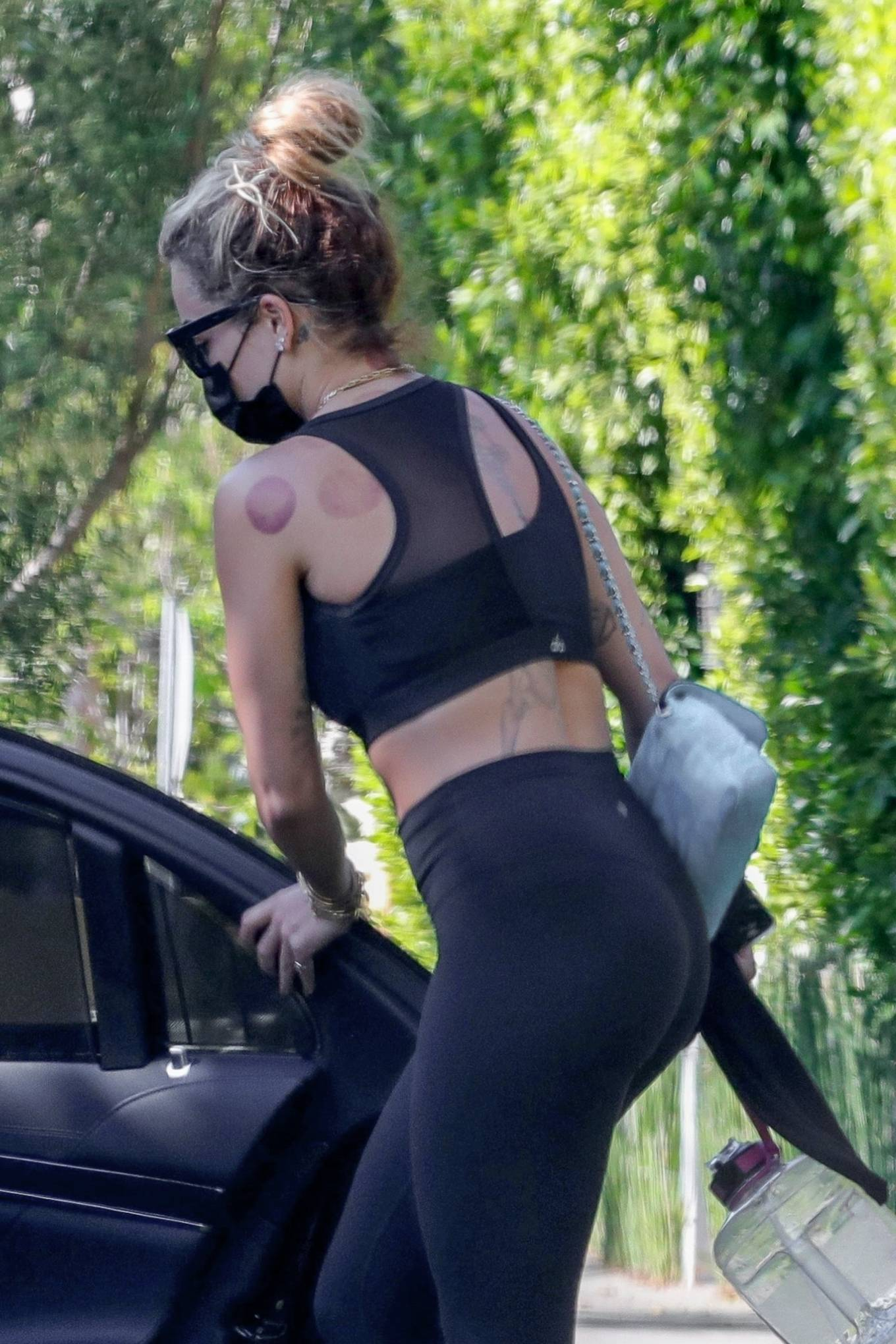 Rita Ora 2021 : Rita Ora – Seen in black leggings in Sydney-08