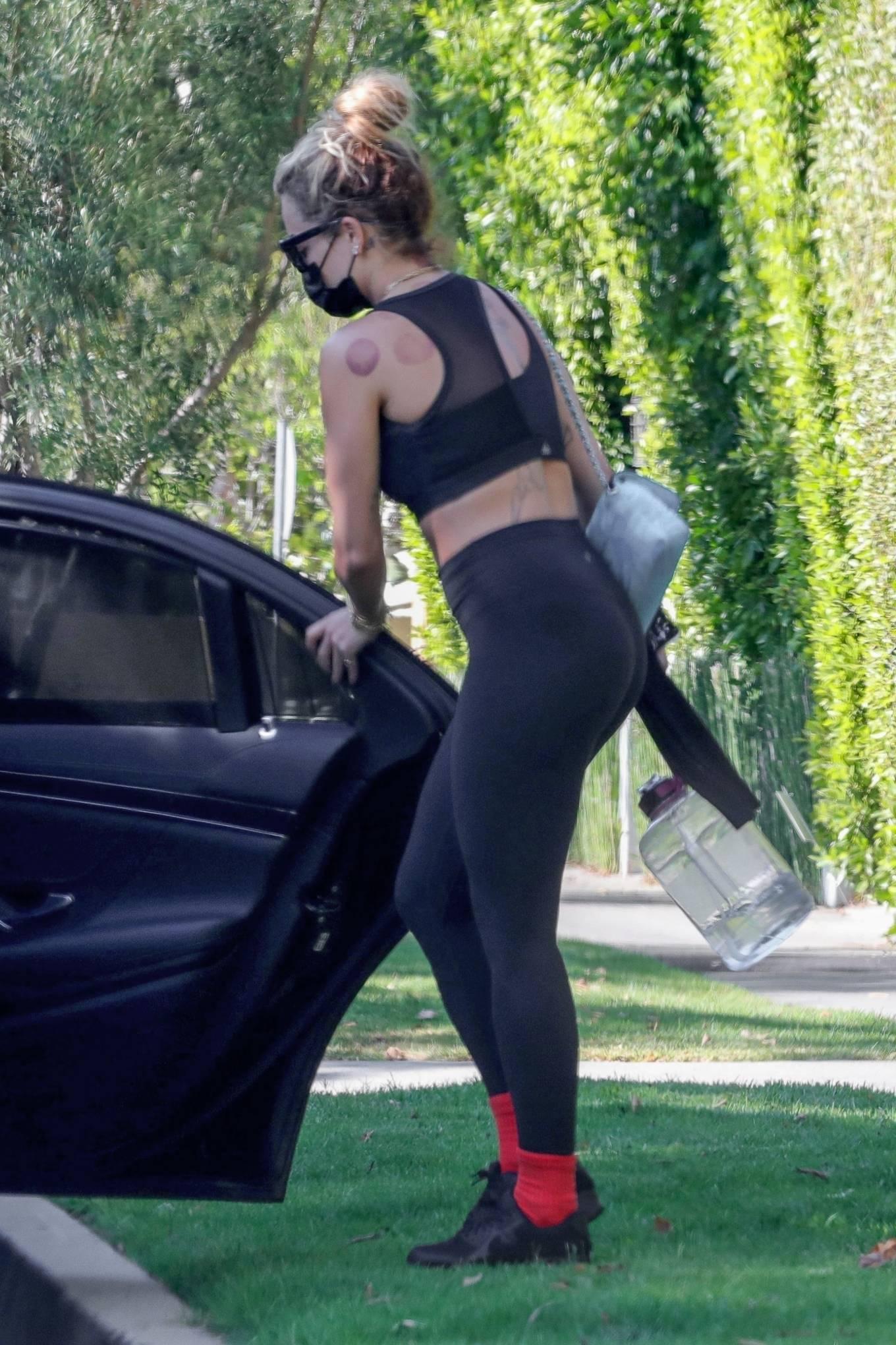 Rita Ora 2021 : Rita Ora – Seen in black leggings in Sydney-13