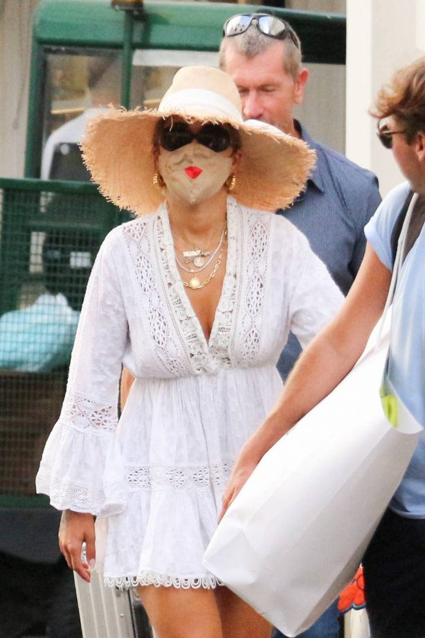 Rita Ora - Seen out in Capri