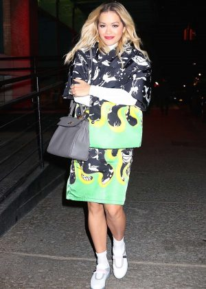Rita Ora - Seen Out in NYC