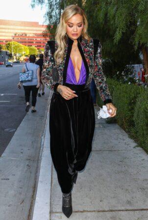 Rita Ora - Seen with a friend in Los Angeles