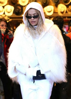 Rita Ora - Shopping in Aspen