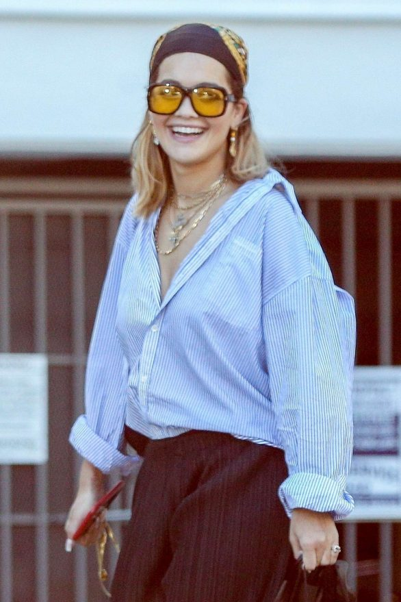 Rita Ora - Spotted jewelry shopping in Beverly Hills