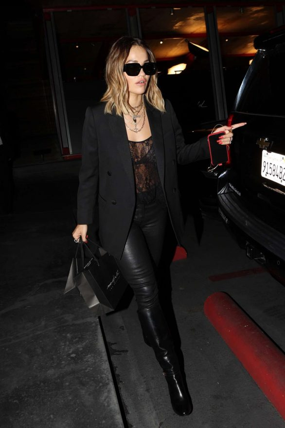 Rita Ora - spotted out shopping in West Hollywood