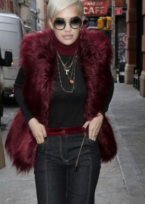 Rita Ora Style - Out and about in NYC