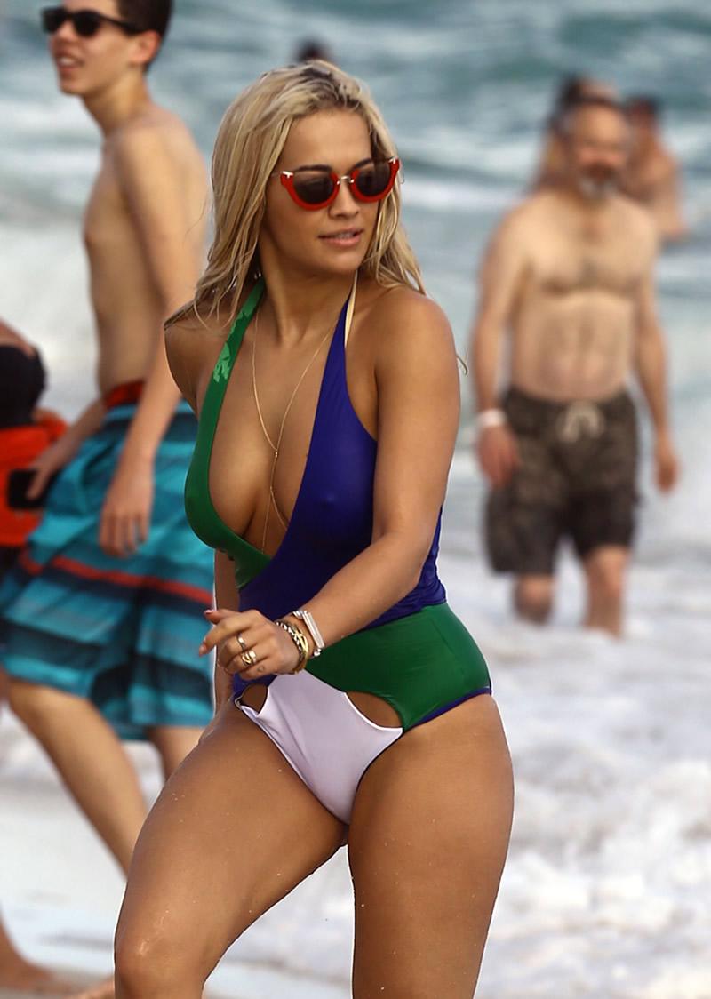 Rita Ora Swimsuit Candids In Miami Adds 27 Gotceleb
