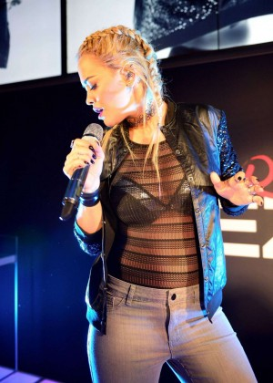 Rita Ora - Tezenis Campaign Launch Party in Frankfurt am Main