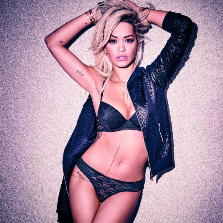 Rita Ora - Tezenis Shoot