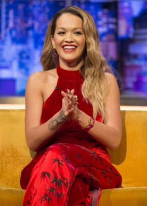 Rita Ora - 'The Jonathan Ross Show' in London
