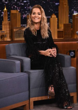 Rita Ora - 'The Tonight Show with Jimmy Fallon' in New York