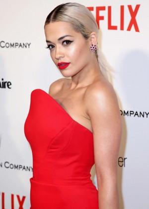 Rita Ora - The Weinstein Company & Netflix's Golden Globes Party 2015 in Beverly Hills