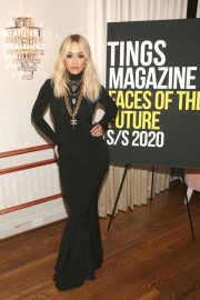 Rita Ora - Tings Magazine Private Dinner in Los Angeles