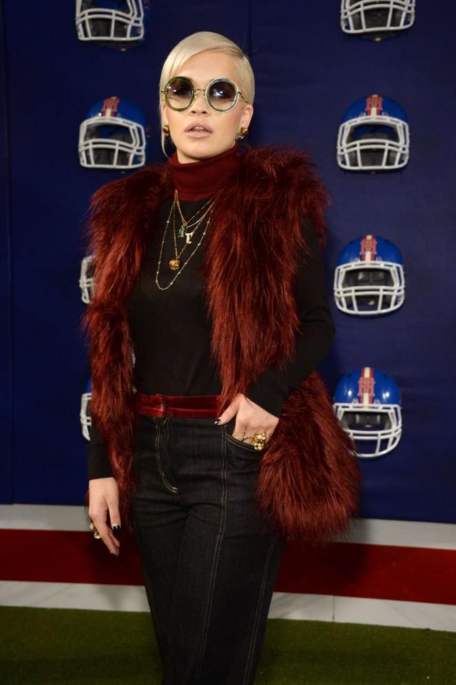 Rita Ora – Tommy Hilfiger Fashion Show in NYC