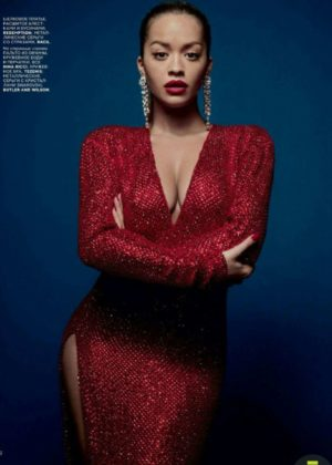 Rita Ora - Vogue Russia Magazine (January 2018)