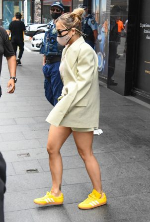 Rita Ora - Walking out of her hotel in Sydney