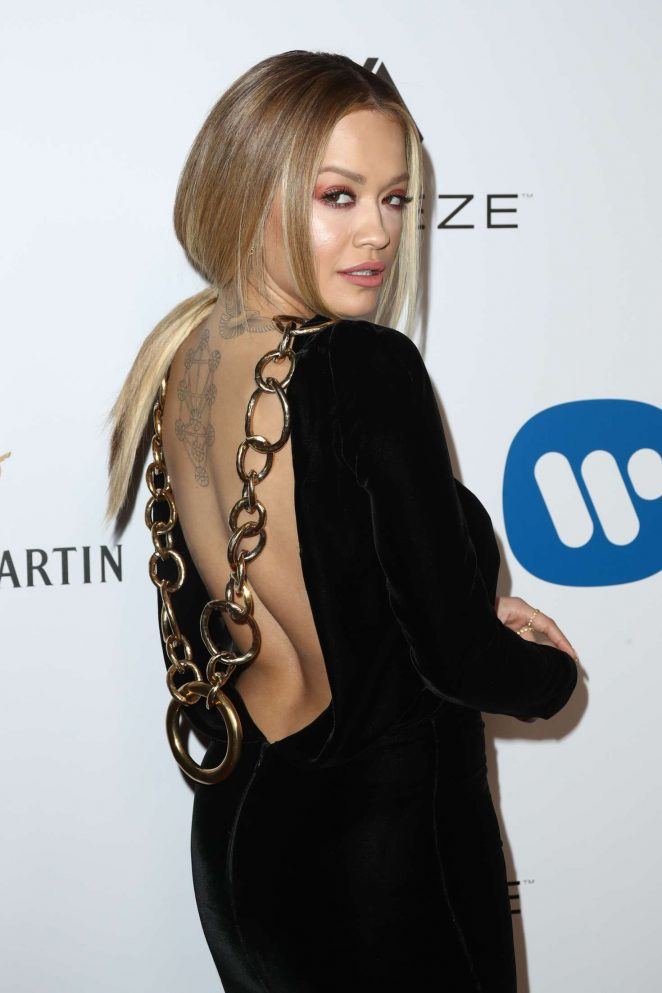 Rita Ora - Warner Music Group Grammy After Party 2017 in LA