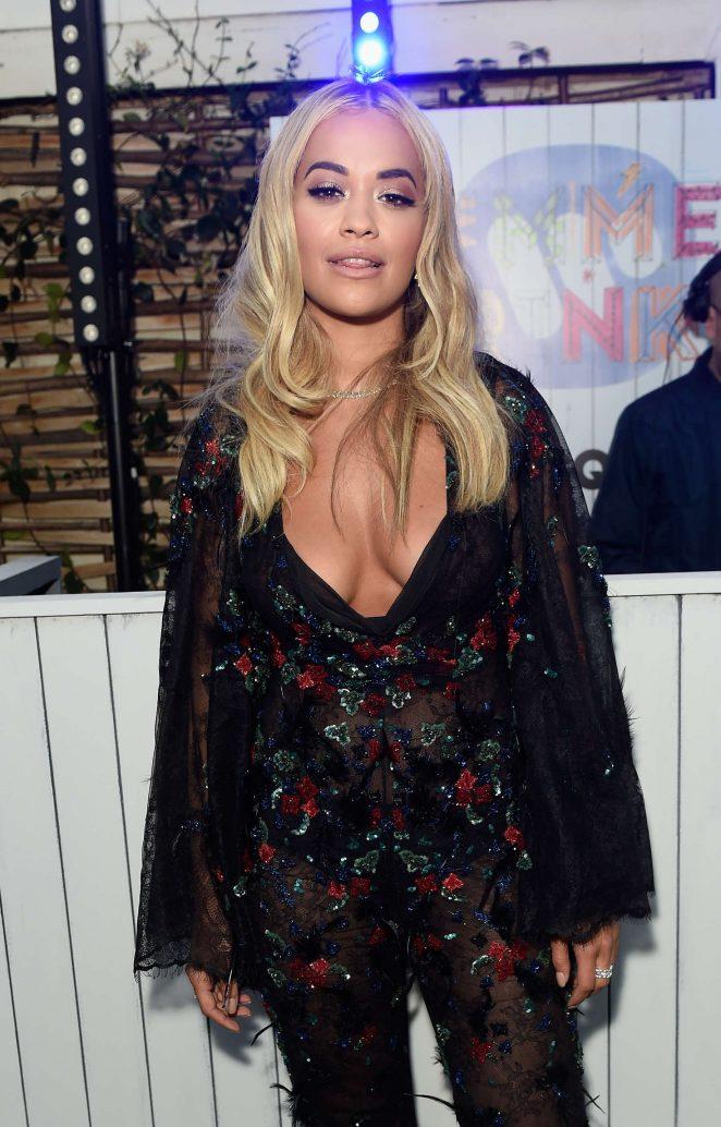 Rita Ora – Warner Music Group Summer Party in London