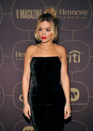 Rita Ora - Warner Music PreGrammy Party in NY