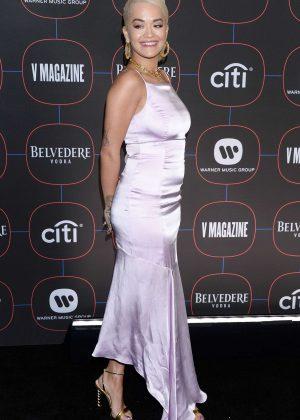 Rita Ora - Warner Music's Pre-Grammys Party in LA