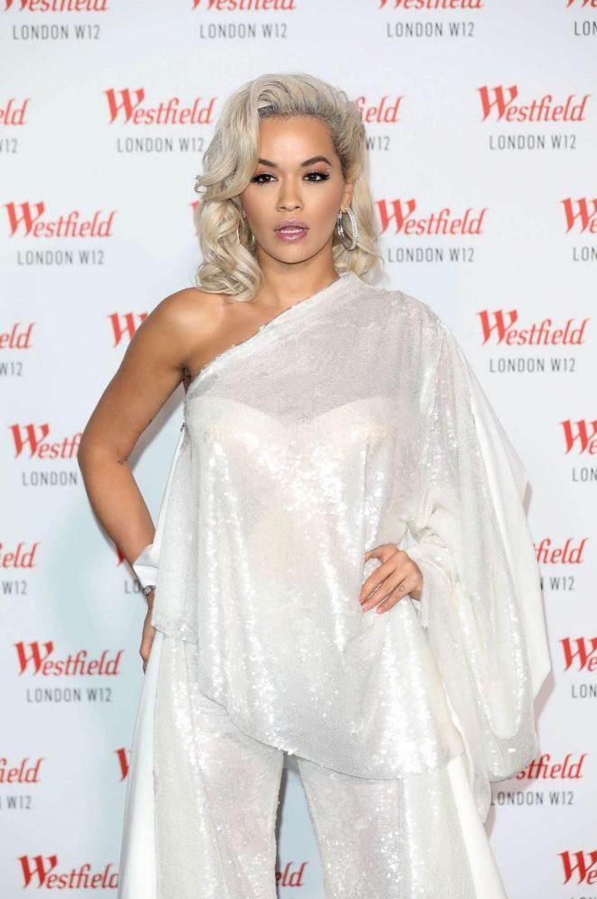 Rita Ora – Westfield London's 10th anniversary celebrations in London