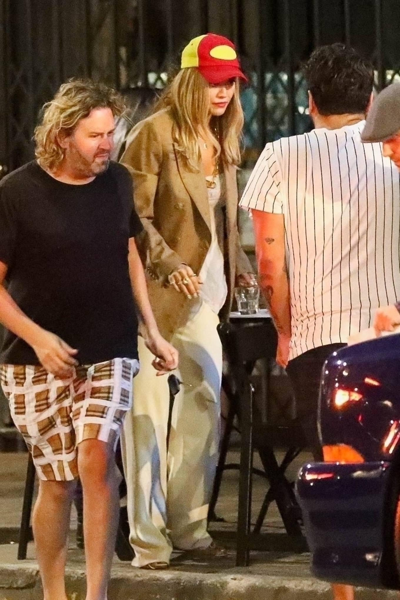 Rita Ora - With boyfriend Taika Waititi out in Los Angeles