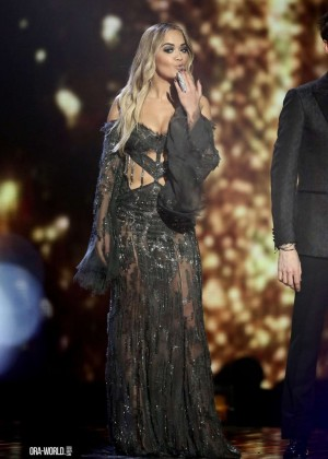 Rita Ora - X Factor Series Finale in London