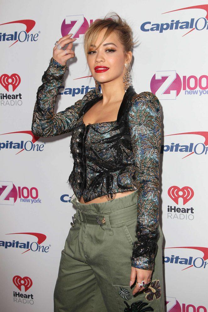 Rita Ora - Z100's iHeartRadio Jingle Ball 2016 in New York