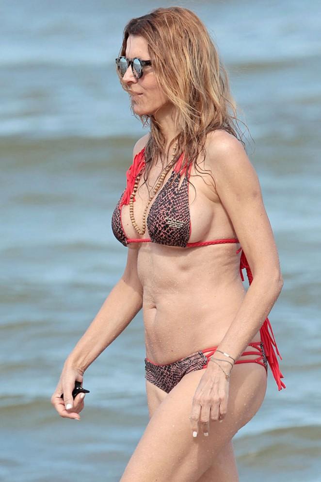 Rita Rusic in Bikini in Miami