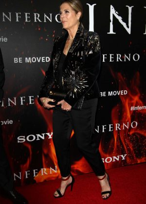 Rita Wilson - 'Inferno' Premiere in Los Angeles