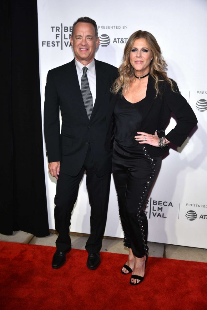 Rita Wilson - 'The Circle' Screening at Tribeca Film Festival in New York