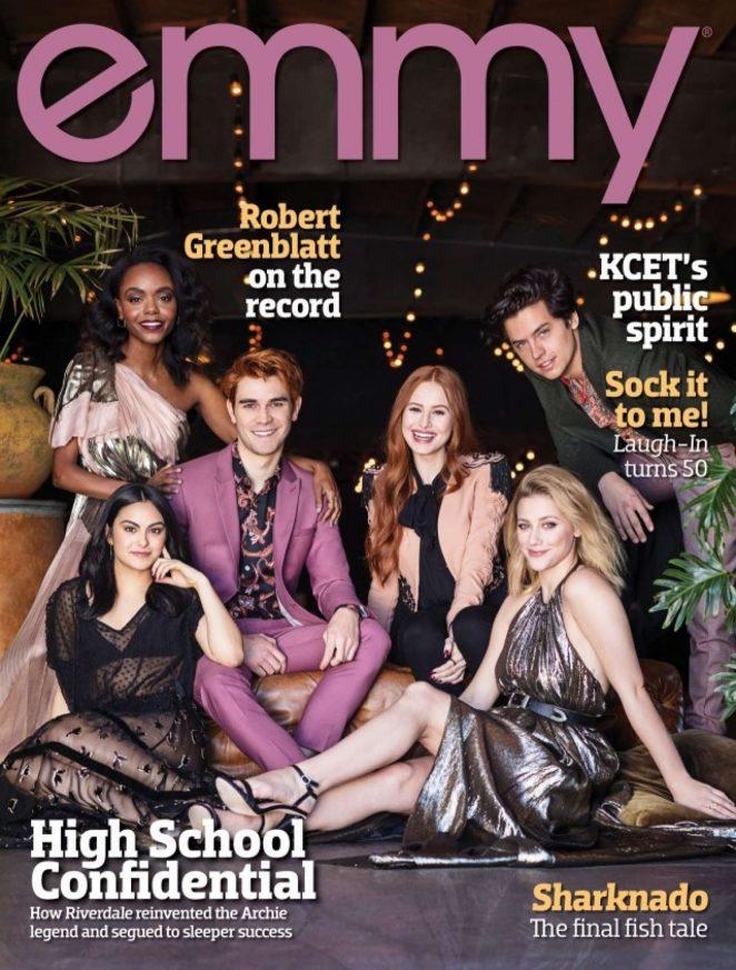 Riverdale Cast - Emmy Magazine (August  2018)