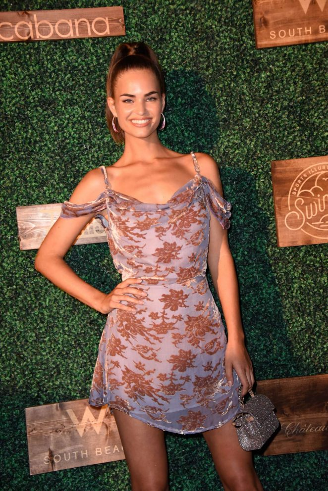 Robin Holzken - 2018 Sports Illustrated Swimsuit Swim Week Party in Miami